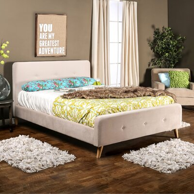 Langley Street Mica Upholstered Platform Bed