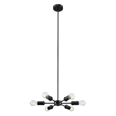 Valmy 6-Light Cascade Pendant