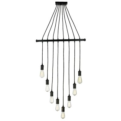 Valmy 8-Light Cascade Pendant