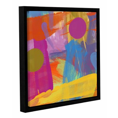 Joy Framed Painting Print on Wrapped Canvas Size: 14