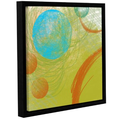 Langley Street Peace II Framed Painting Print on Wrapped Canvas