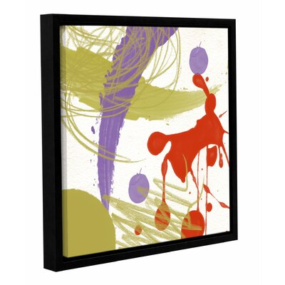 Langley Street Organized Chaos I Framed Painting Print on Wrapped Canvas