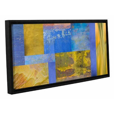 Collage Framed Graphic Art on Wrapped Canvas Size: 12