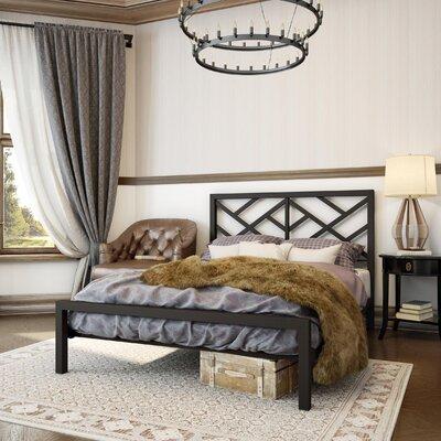Palm Hills Platform Bed Size: Queen, Finish: Textured Dark Brown