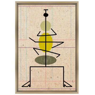 Langley Street Macarena Framed Graphic Art on Wrapped Canvas