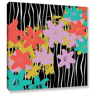 Blossoming Garden IV Painting Print on Wrapped Canvas