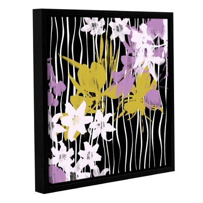 Blossoming Garden VI Framed Painting Print on Wrapped Canvas