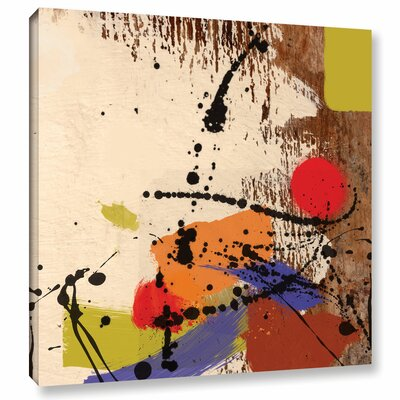 'Cross Roads' Painting Print on Wrapped Canvas Size: 10