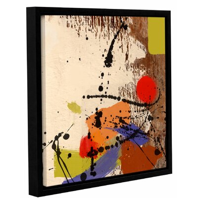 'Cross Roads' Framed Painting Print on Wrapped Canvas Size: 14