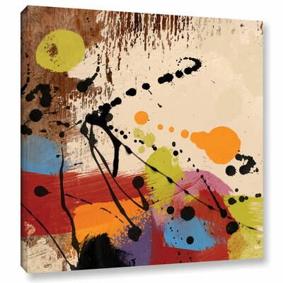 'Cross Roads II' Painting Print on Wrapped Canvas Size: 10