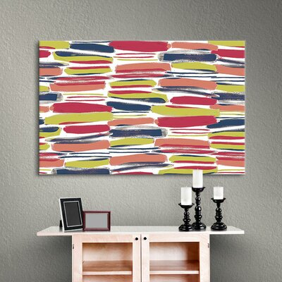 Henri I Painting Print on Gallery Wrapped Canvas Size: 18