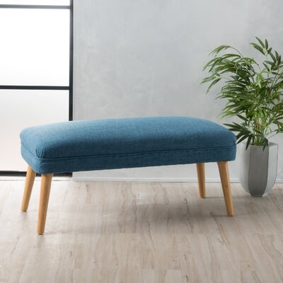 Raleigh Ottoman Upholstery: Blue