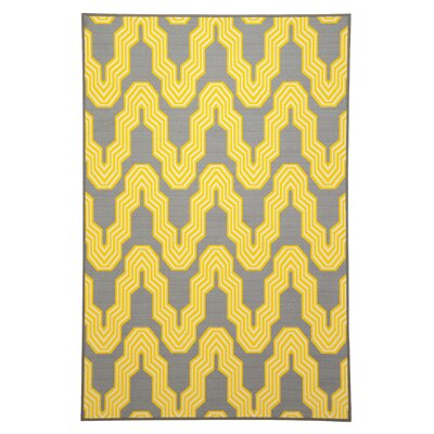 Cicero Yellow Area Rug
