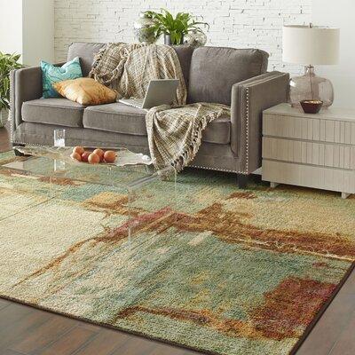 Florencia Aqua Area Rug Size: 10' x 10'