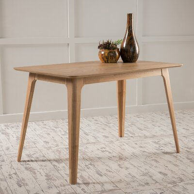 Adsett Dining Table Finish: Natural Walnut