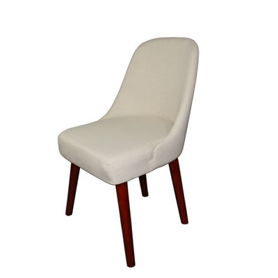 Carmelita Side Chair Color: Cream White