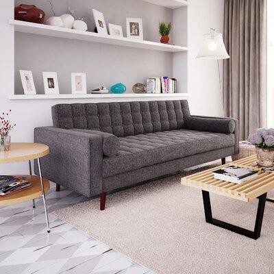 Cosgrove Sofa Upholstery: Charcoal
