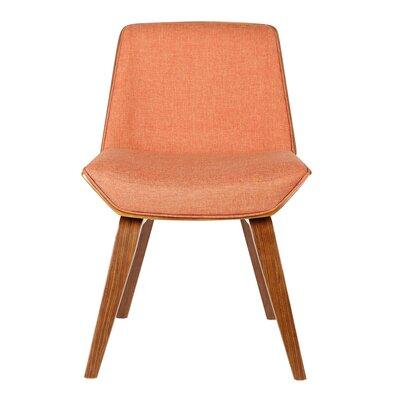 Alder Side Chair Upholstery: Orange
