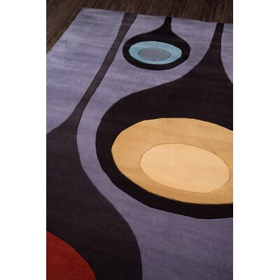 Covington Hand-Tufted Steel Area Rug Rug Size: Rectangle 96 x 136