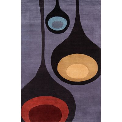 Covington Hand-Tufted Steel Area Rug Rug Size: Rectangle 2 x 3