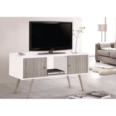 Park View TV Stand Finish: White
