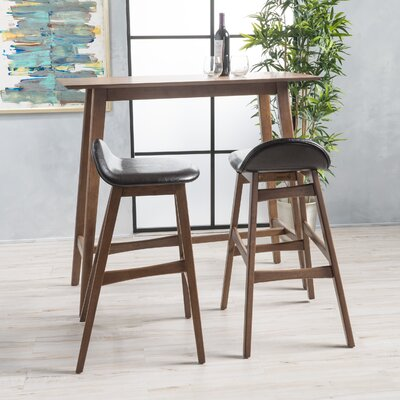Adriana 3 Piece Pub Table Set