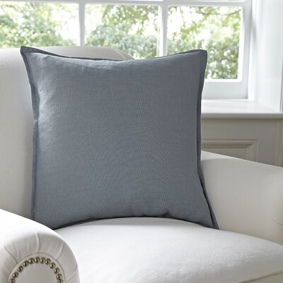 Columbine 100% Cotton Throw Pillow Color: Pewter