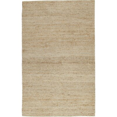 Waverley Hand-Woven Sand Area Rug Size: Rectangle 5 x 8