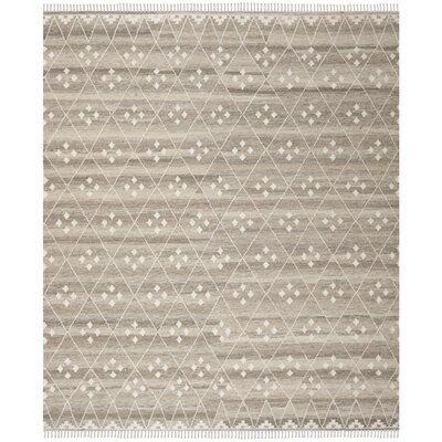 Aldergrove Hand-Woven Beige Area Rug Rug Size: Rectangle 5 x 8
