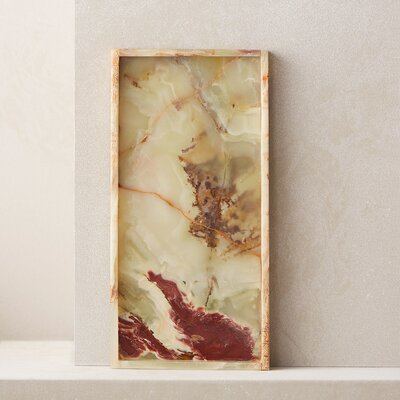 Langley Street Hancrafted Onyx Tray