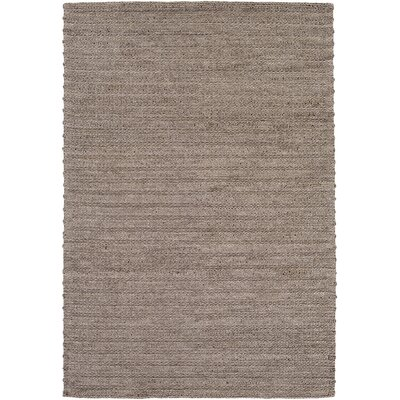 Marcellus Hand-Woven Ivory Area Rug Rug Size: Rectangle 4 x 6