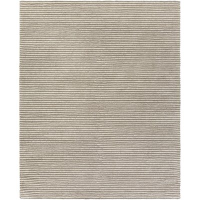 Daniella Hand-Woven Gray Area Rug Rug Size: Rectangle 8 x 10
