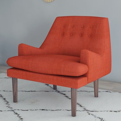Carncome Arm Chair Upholstery: Spice