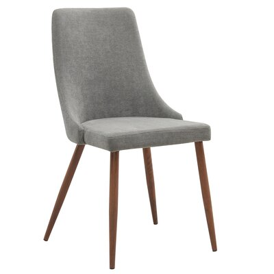 Aldina Side Chair Upholstery: Gray