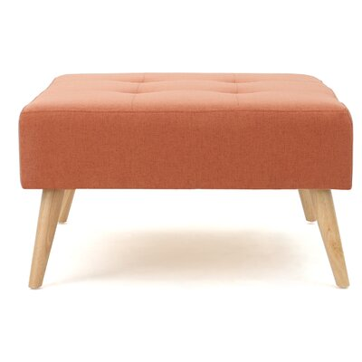 Alcurve Ottoman Upholstery: Orange