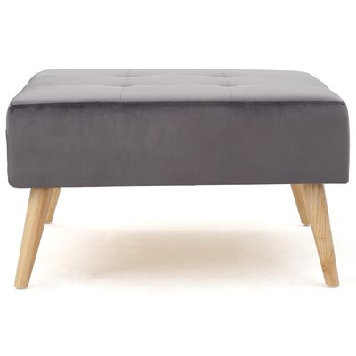 Alcurve Ottoman Upholstery: Gray