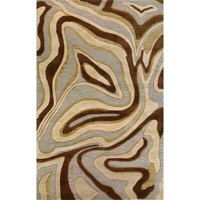 Alto Creek Hand-Tufted Multi-color Area Rug Rug Size: 36 x 56
