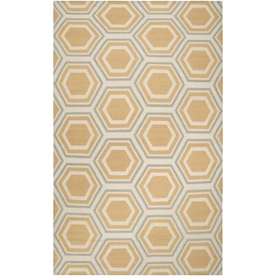 York Butter Area Rug Rug Size: Rectangle 2 x 3