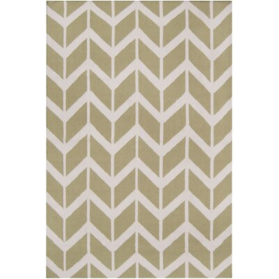 York Light Lime Area Rug Rug Size: 36 x 56