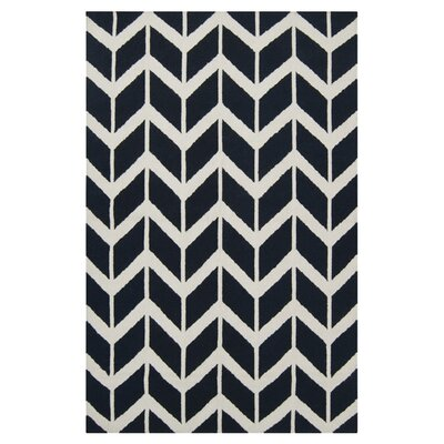 York Federal Blue Area Rug Rug Size: 2' x 3'