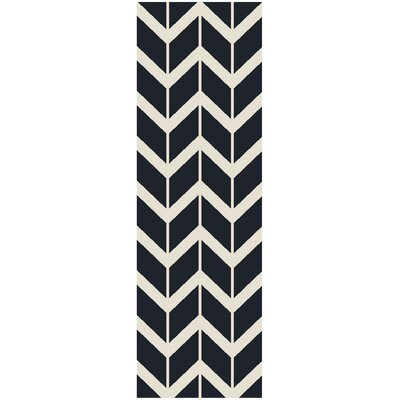 York Federal Blue Area Rug Rug Size: Runner 2'6