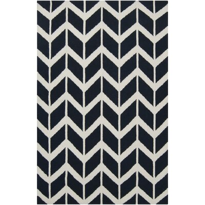 York Federal Blue Area Rug Rug Size: 5' x 8'