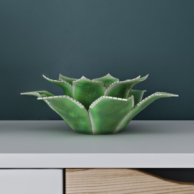Langley Street Open Artichoke Ceramic Votive