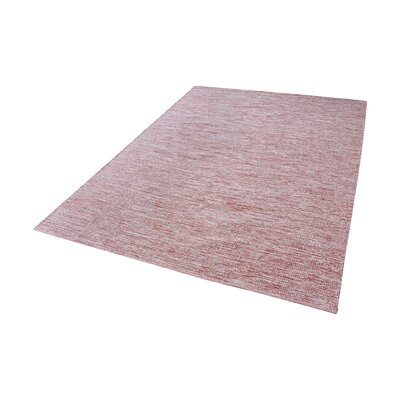 Constable Handmade Marsala/White Area Rug Rug Size: Rectangle 27 x 5