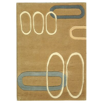 Bermondsey Hand-Tufted Beige Area Rug Rug Size: Rectangle 2 x 3
