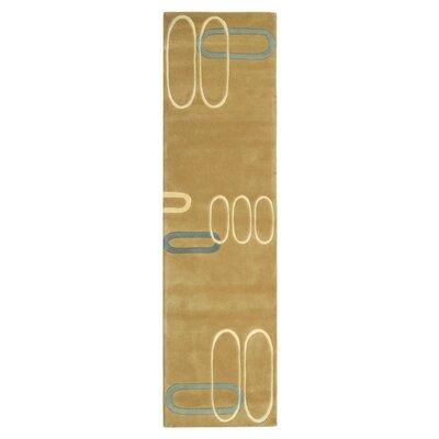 Bermondsey Hand-Tufted Beige Area Rug Rug Size: Runner 26 x 10