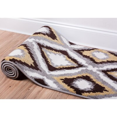 Patton Geometric Area Rug Rug Size: 53 x 73