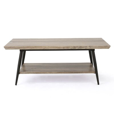 Elizabeth Coffee Table Finish: Canyon Gray