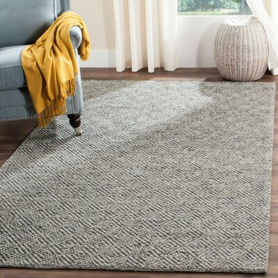 Daytona Beach Hand-Tufted Camel/Gray Area Rug Rug Size: 8 x 10