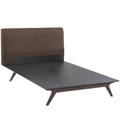 Modesto Twin Platform Bed Color: Brown